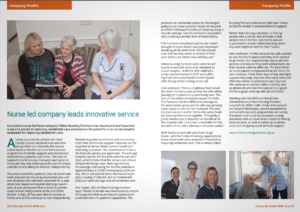 nurse led company leads innovative service