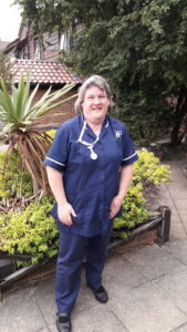 Hilton Nursing Partners nurse Clare Gingell found herself in the middle of a bomb scare but showing her courage and dedication for her patients, she put their safety first.