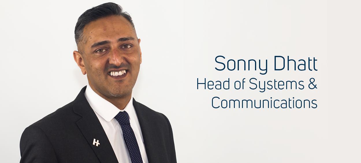 Sonny Dhatt Head of Systems & Communications Hilton Nursing
