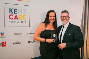 Hilton Nursing Partners win at the Kent Care Awards.